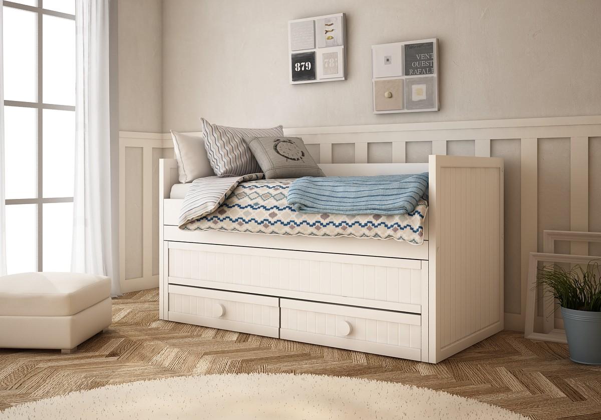 Camas nido cama infantil cama nido lacada mueble infantil - Mueble cama nido ...
