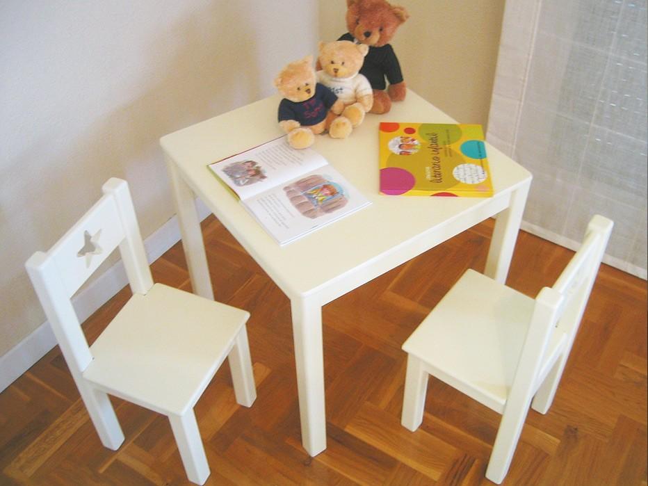 Mesa Infantil Cuadrada