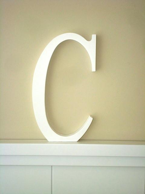 Aplique letra C