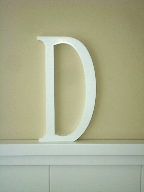 Aplique letra D