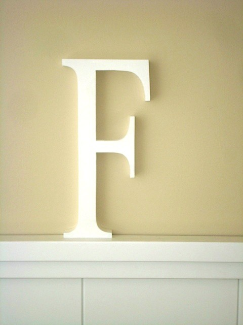 Aplique letra F