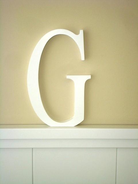 Aplique letra G