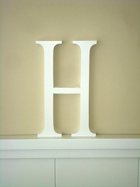 Aplique letra H