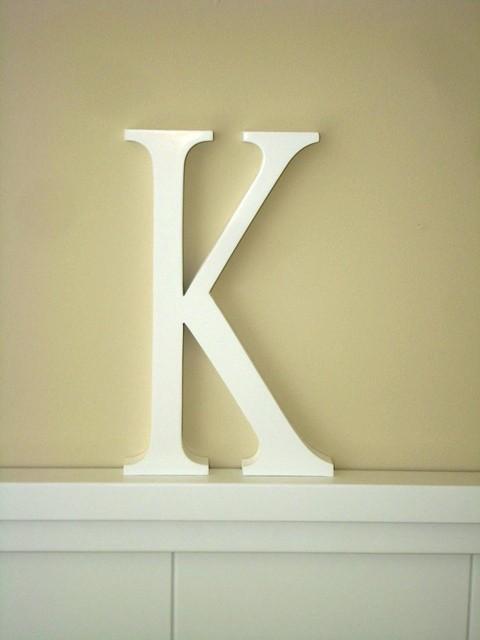 Aplique letra K